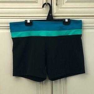 Reversible Lululemon women's shorts